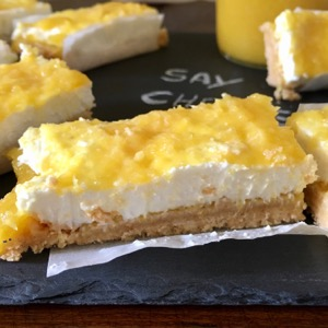 Sunny Mango cheesecake bars recipe