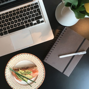 Avocado toast: the perfect lunch if you're a freelancer