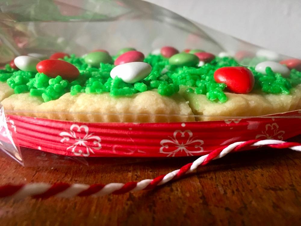 La torta biscotto e la tombola di Natale