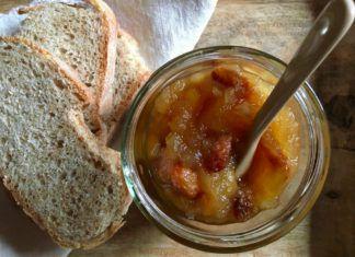 ricetta della confettura di mele al gusto strudel