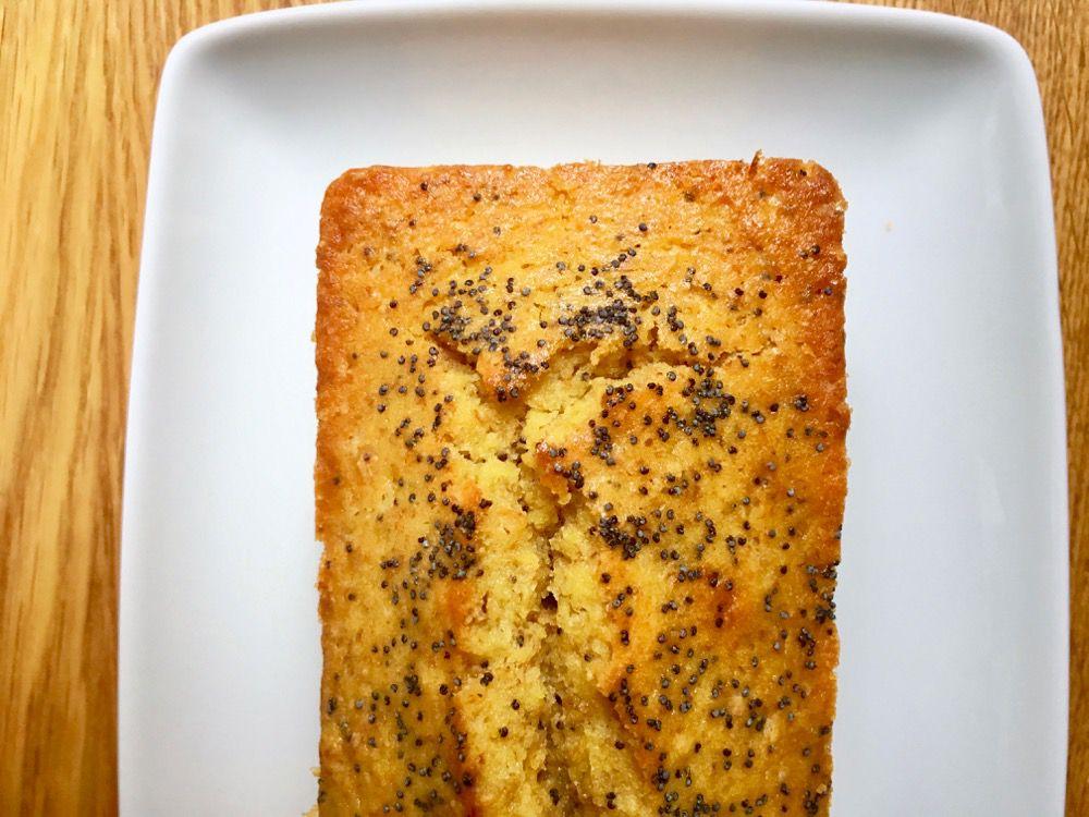 Plumcake al profumo di limone e semi di chia