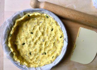 Base per torta salata con semini, ricetta senza glutine