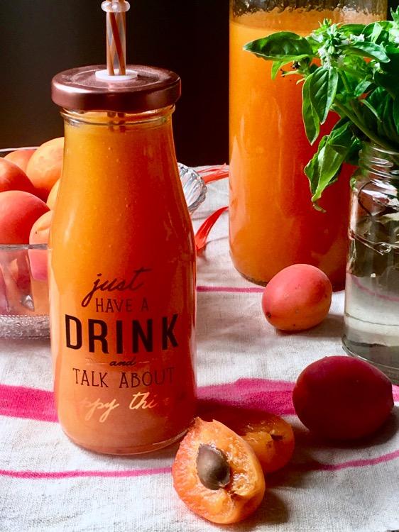 Homemade Apricot Juice