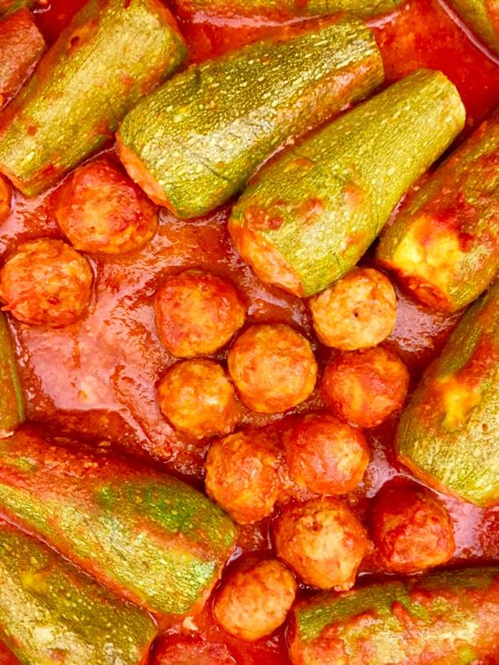 Ricetta di Bologna: zucchine ripiene alla bolognese
