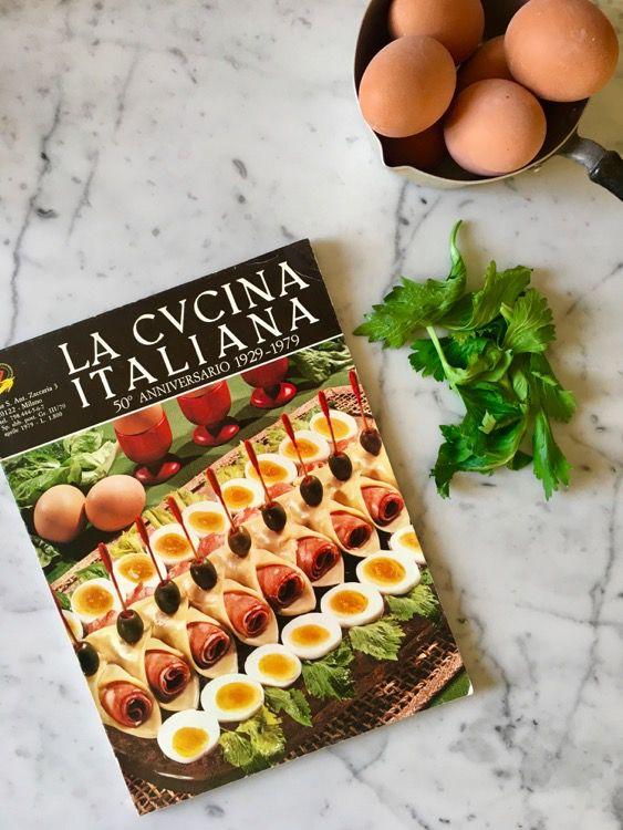 Involtini di formaggio e salame: Cucina Italiana Anni '70
