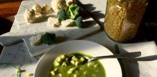 Minestra di broccoli e cavolfiore. Quando l'inverno bussa alla porta