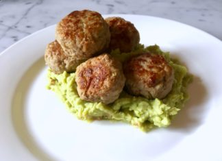 Spicy Meatballs, Mashed Broad Beans & A Handful Of Heroes