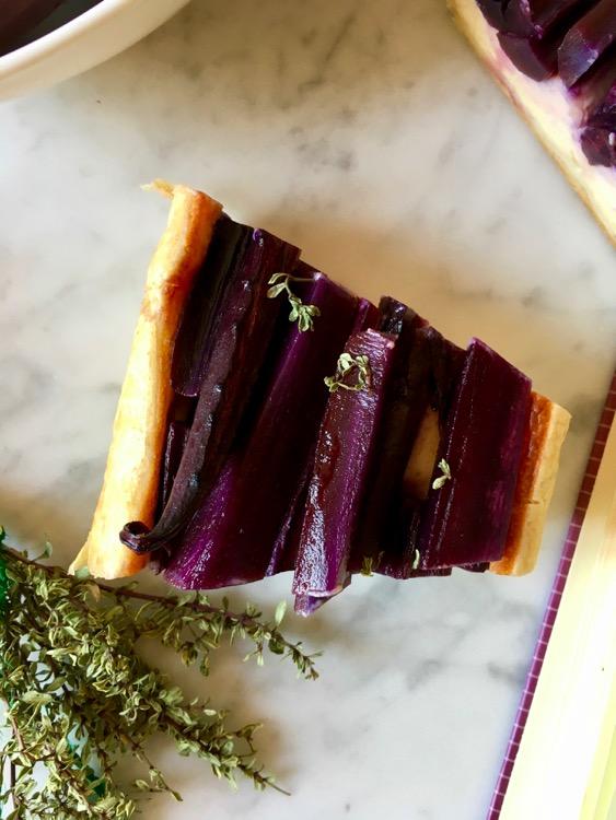 Torta salata di carote e squacquerone di Romagna