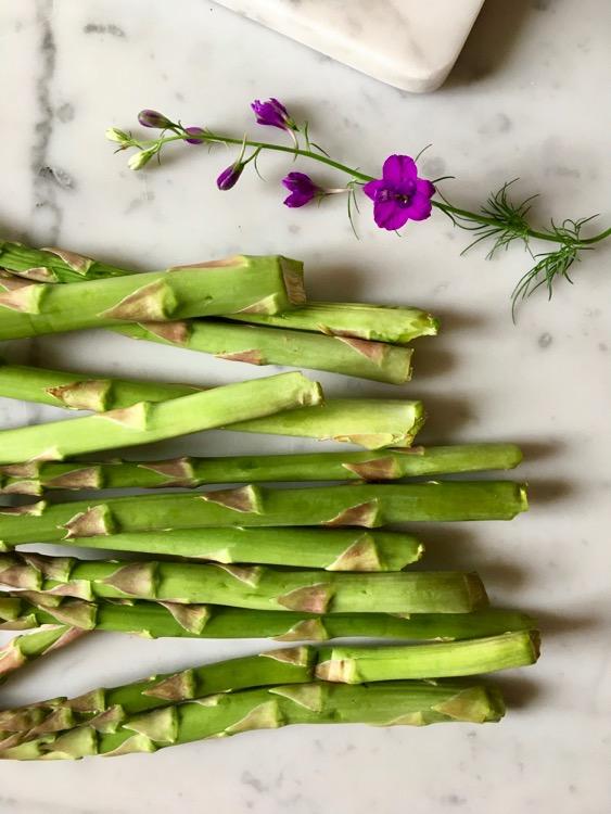 Ricetta della Crema fredda di asparagi con stracchino