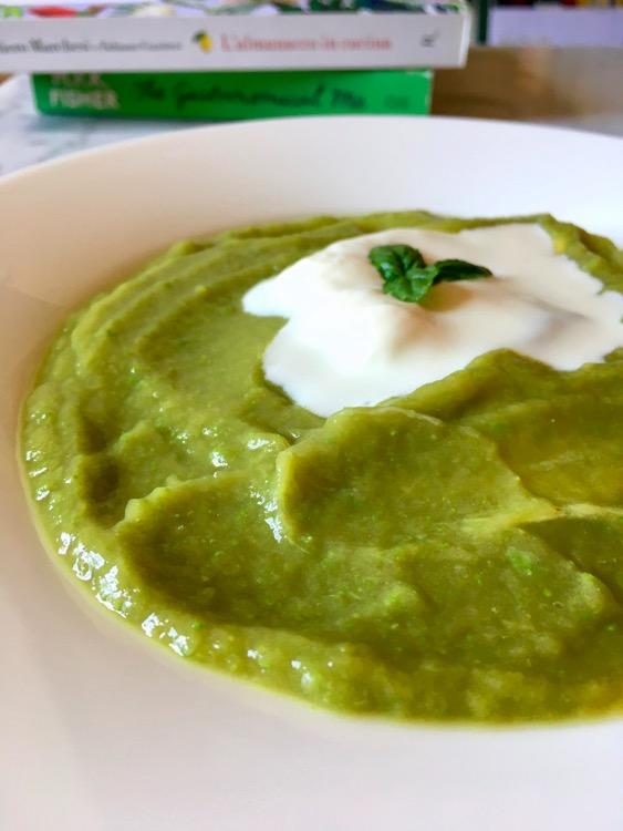 Crema fredda di asparagi con stracchino e la ricetta giusta