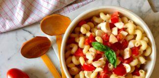 Piatti estivi: Pasta fredda alla Checca