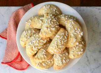 Raviole con crema pasticcera